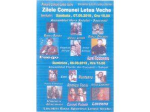 Zilele Comunei Letea Veche